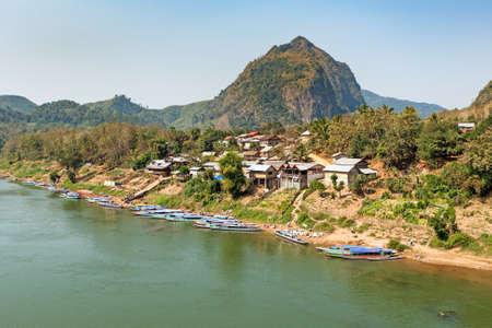 Nong Khiao, Laos Stock Photo