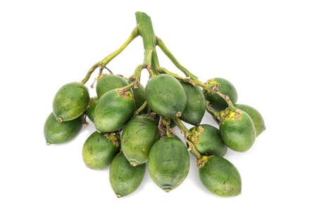 Areca Nut Isolated Stock Photo