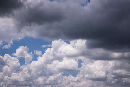 Clouds form into bad weather, rain will come