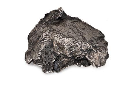 Meteorite Iron isolated on white