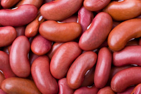 haricot: Abstract background of Red haricot beans (macro)