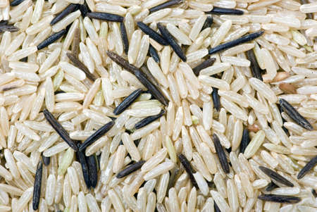 uncultivated: Abstract background of White and black uncultivated rice