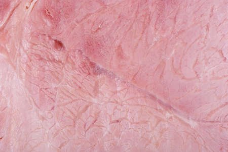 Abstract background: Close-up shot of gammon chunk Stock Photo