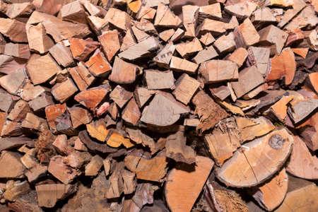 Stacked Firewood Фото со стока