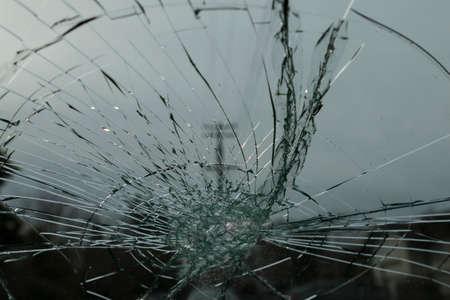 shattered: Shattered Windshield