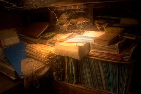 abandoned: Abandoned books