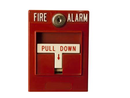 Rot Feueralarm Standard-Bild - 6469682