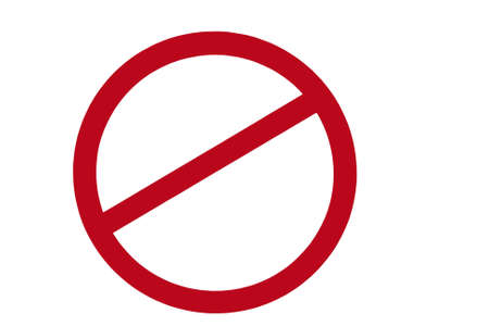 banned: red banned sign.