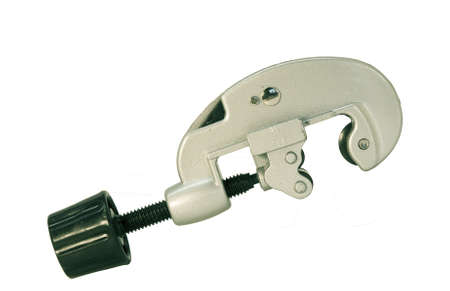 pipe cutter isolated Stok Fotoğraf - 8414451