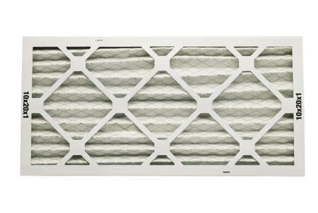 filtration: air filter for heating unit with clipping path at this size