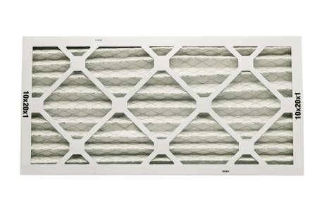 Luftfilter zum Heizen mit Beschneidungspfad in dieser Gr??e Standard-Bild - 9371443