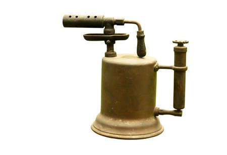 blowtorch: vintage blowtorch  Stock Photo