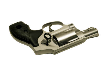 unauthorized: revolver with key to lock action preventing unauthorized use