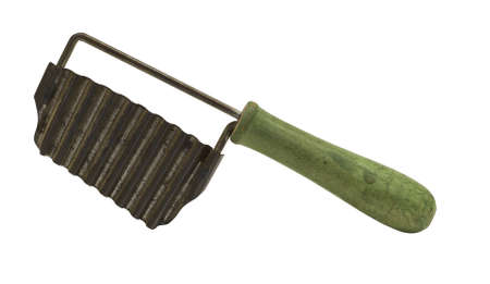 wood cutter: vintage metal vegetable slicer with clipping path at original size
