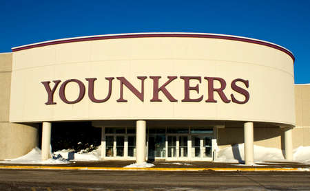 EAU CLAIRE,WISCONSIN-FEBRUARY 02,2014: Younker department store in Eau Claire,Wisconsin on February 02,2014. Editorial