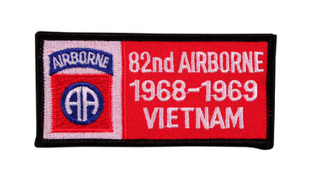 RIVER FALLS,WISCONSIN-NOVEMBER 2,2014:The Eighty Second Airborne division first entered the Vietnam conflict in Nineteen Sixty Six.