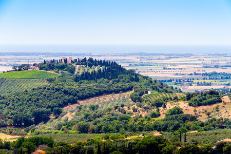 kilometres: Campiglia Marittima is a comune (municipality) in the Province of Livorno in the Italian region Tuscany, located about 90 kilometres (56 mi) southwest of Florence
