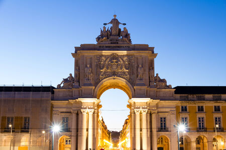 valor: The Praca do Comercio  English  Commerce Square  is located in the city of Lisbon, Portugal  Situated near the Tagus river, the square is still commonly known as Terreiro do Paco