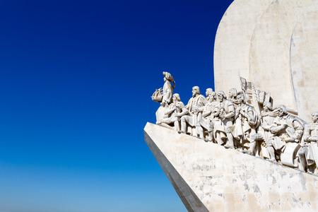 caravelle: Monument des D�couvertes est un monument sur l'estuaire du Tage � Lisbonne