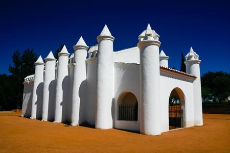 portugal agriculture: Small rural church in Beja, Alentejo, Portugal