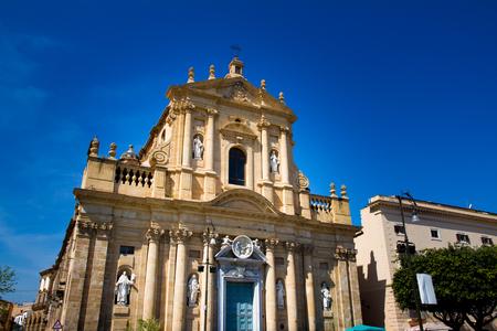 cosa: Santa Teresa alla Kalsa baroque church in Palermo, Sicily, Italy Stock Photo