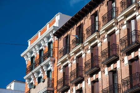 historic buildings: Historic buildings in Madrid, Spain