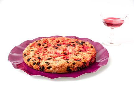elba: Schiaccia briaca (drunk cake) from Elba, Italy
