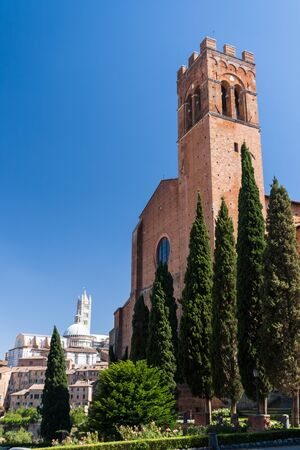 San Domenico is a Cathedral in Siena, Italy, in the Tuscany region of Italy