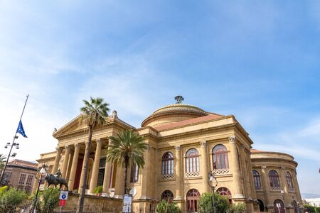 verdi: The Teatro Massimo Vittorio Emanuele is an opera house located on the Piazza Verdi in Palermo, Italy