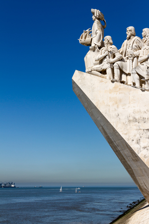 Monument to the Discoveries is a monument on the Tagus River estuary in Lisbon