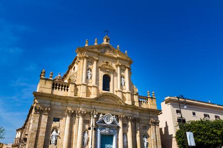 Santa Teresa alla Kalsa baroque church in Palermo, Sicily, Italy Stock Photo