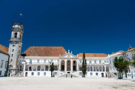 Coimbra University is an ancient University in Portugal Stock Photo