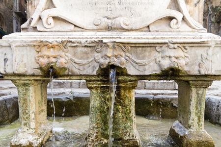 prodigious: The Garraffello fountain in the Vucciria quarter of Palermo