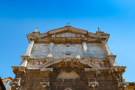 The S. Lucia church is a catholic church in Montepulciano, Italy