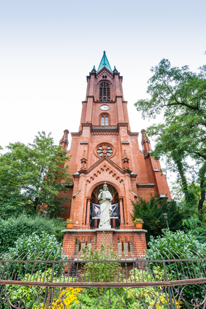 Gethsemane Church is a Lutheran Church in Prenzlauer Berg, Berlin