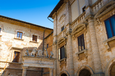 The Nobili-Tarugi palace is a nobiliary palace in Montepulciano, Italy