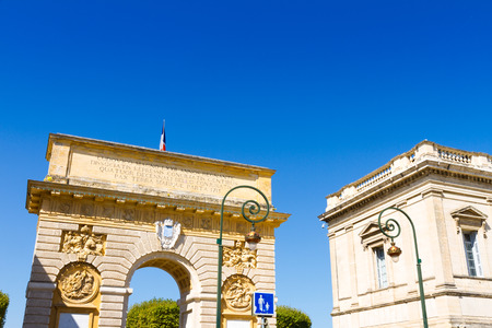 The Porte du Peyrou (1693) is a triumphal arch in Montpellier, in southern France