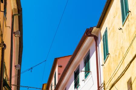 Skyline in Rio nellElba, a comune in Tuscany, Italy