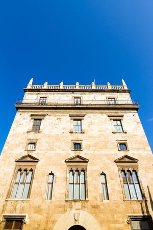 The Palau de la Generalitat houses the government institutions of the Valencian Community