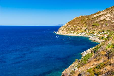 Cristal sea water near Chiessi, Elba island, Italy