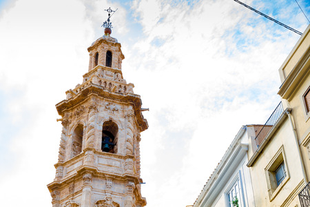 The Bell tower of Saint Caterina church in Valencia, Spain Stockfoto