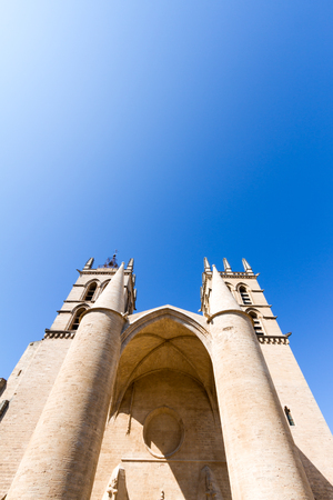 Montpellier Cathedral is a Roman Catholic church located in the city of Montpellier, France. Stockfoto
