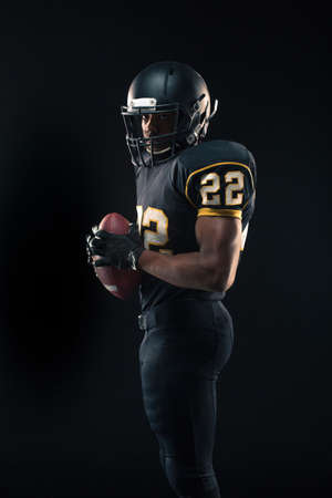 American Football Player Banque d'images