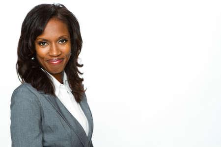 African American businesswoman. Stock Photo