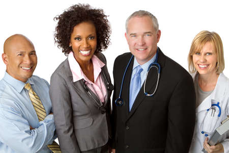 Diverse Team of Healthcare Providers