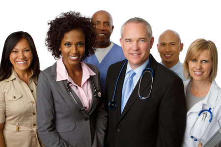 large group of business people: Diverse Team of Healthcare Providers