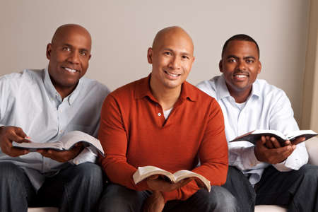 Diverse group of men studying together. Imagens - 85655050