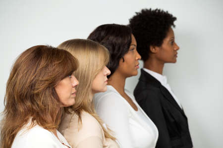 Diverse group of woman.
