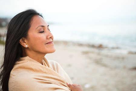 Beautiful Confident Asian Woman.