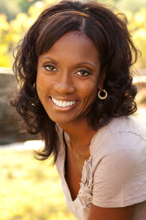 Beautiful mature African American Woman